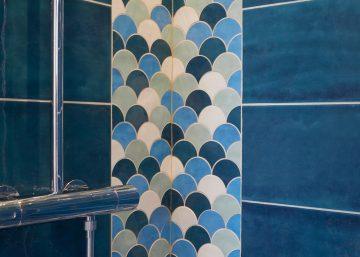 Détail finitions salle d'eau